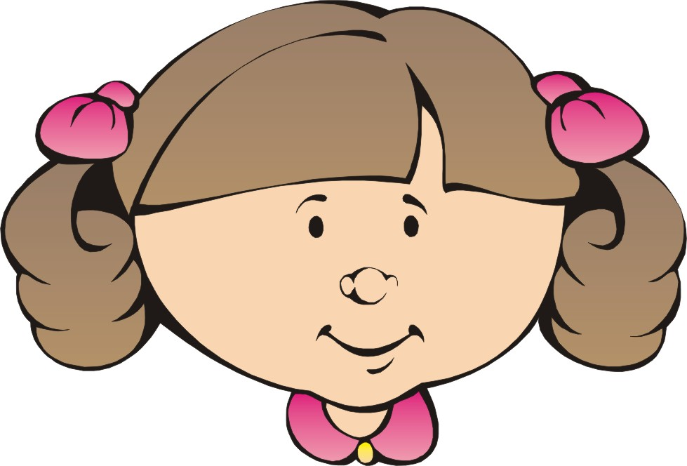 979x664 Girl And Boy Face Clipart