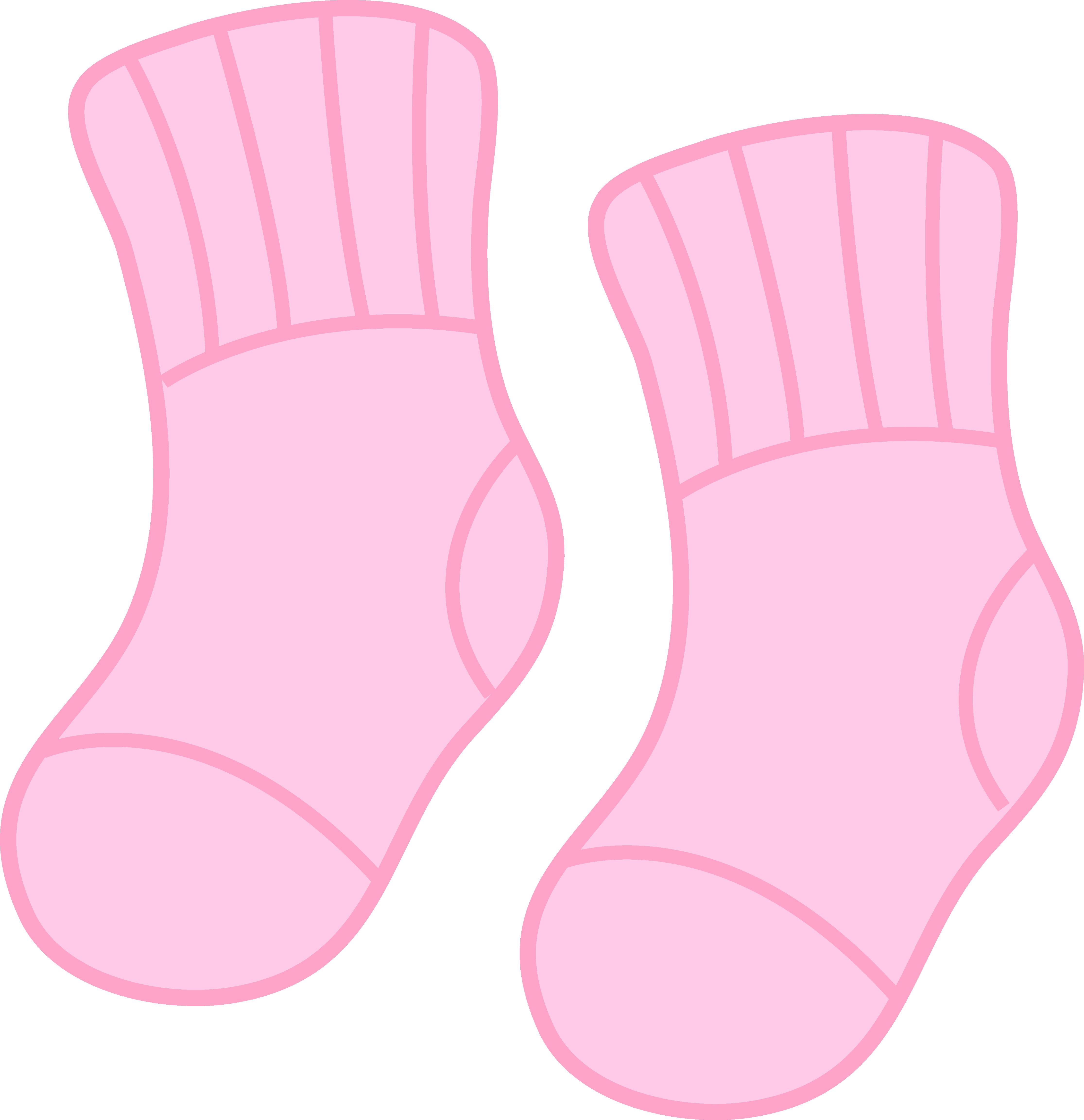4462x4611 Baby Girl Pink Socks