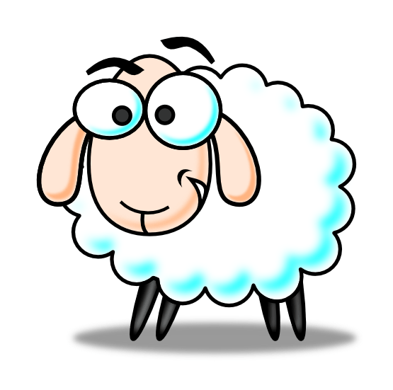 555x551 Baby Sheep Cliparts