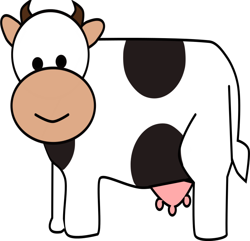 800x771 Baby Cow Clipart Clipartlook