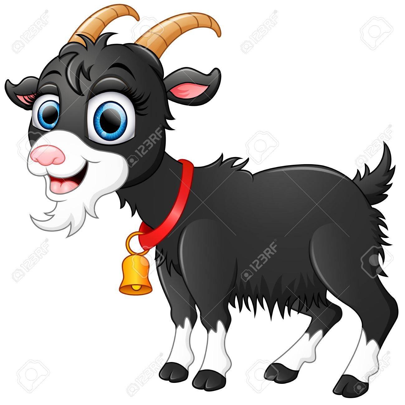 1300x1300 Mesmerizing Goat Pictures Cartoon 29 63781288 Cute Black Paper