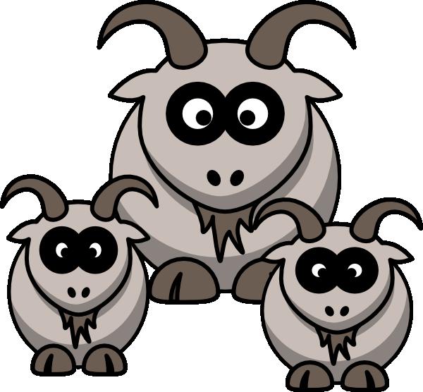 600x556 Baby Goats Clip Art