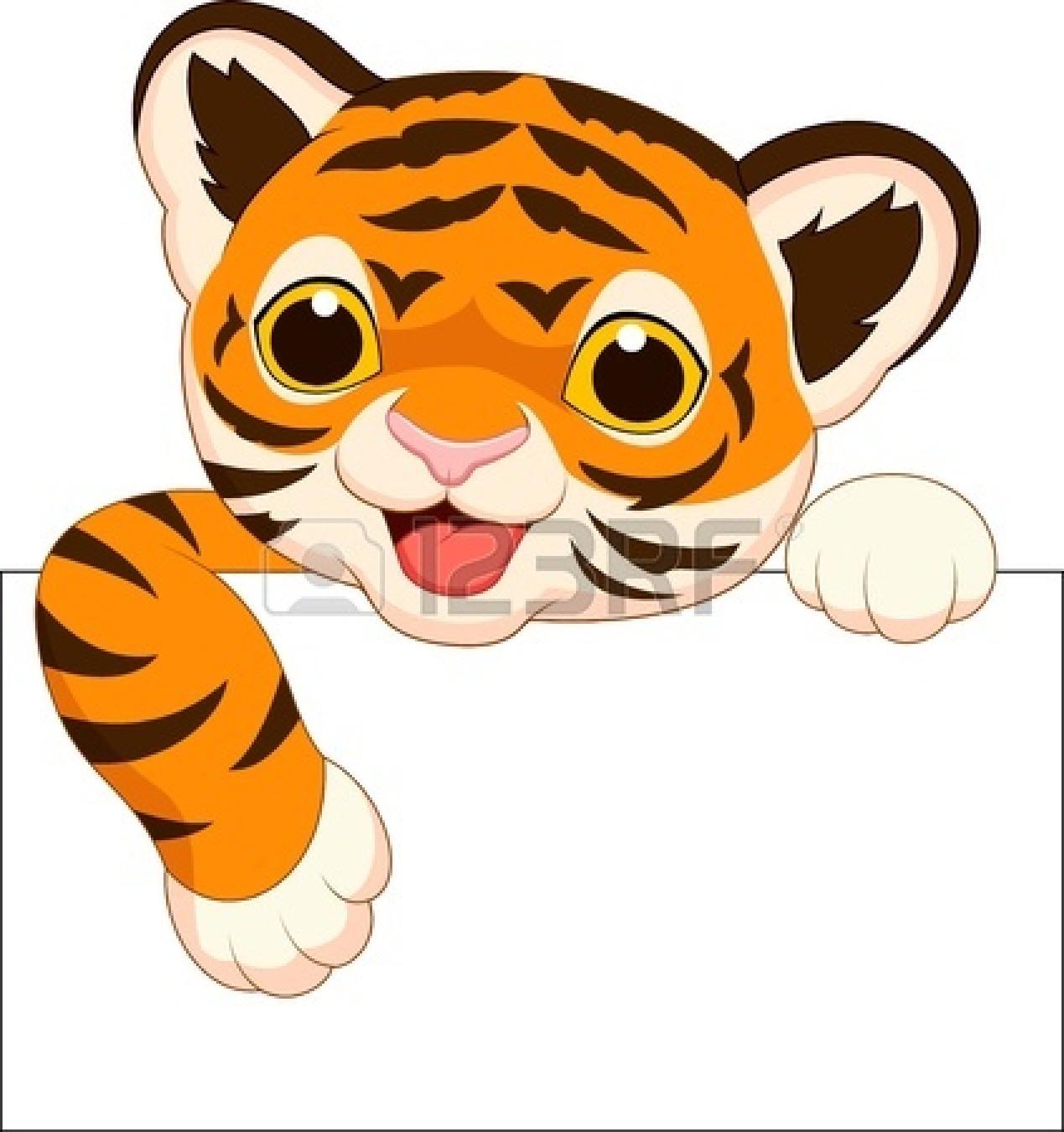 1269x1350 Cartoon Tiger Head Clip Art Clipart