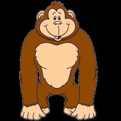 400x400 Fresh Idea Gorilla Clipart Of Baby K28824471 Search Clip Art