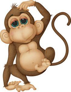 236x306 Monkey Clipart