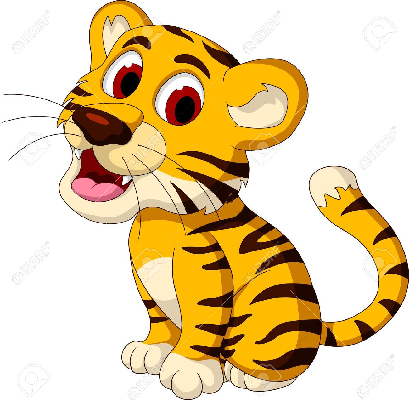 1300x1271 Tigres Clipart Zoo Animal Free Collection Download And Share