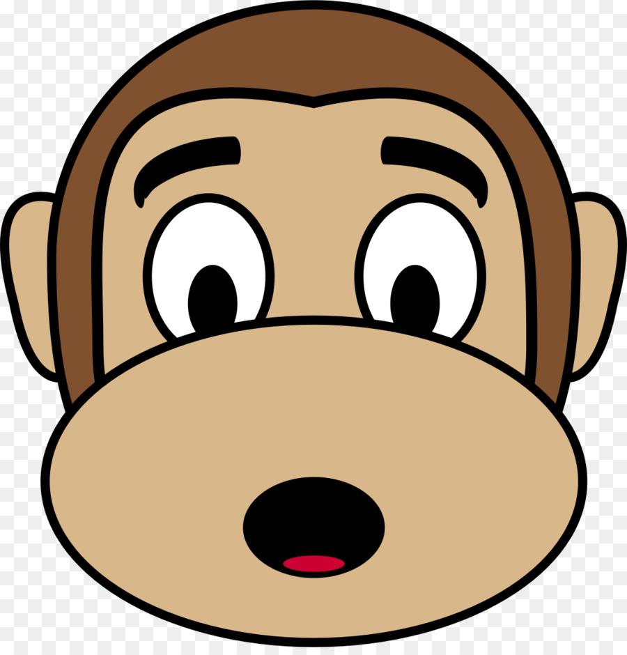 900x940 Ape Emoji Monkey Drawing Clip Art