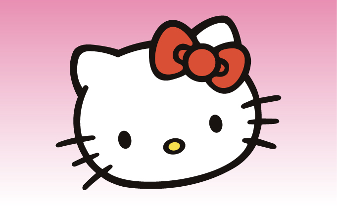 681x417 Hello Kitty 3 Girly Sticker [Hello Kitty 3 Girly Sticker]
