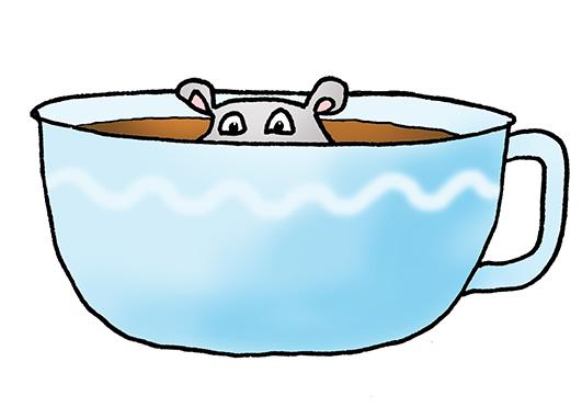 531x371 Cartoon Hippo Clipart