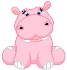 236x246 Clip Art Hippo Grey Hippopotamus Cartoon Pictures Hippo Baby