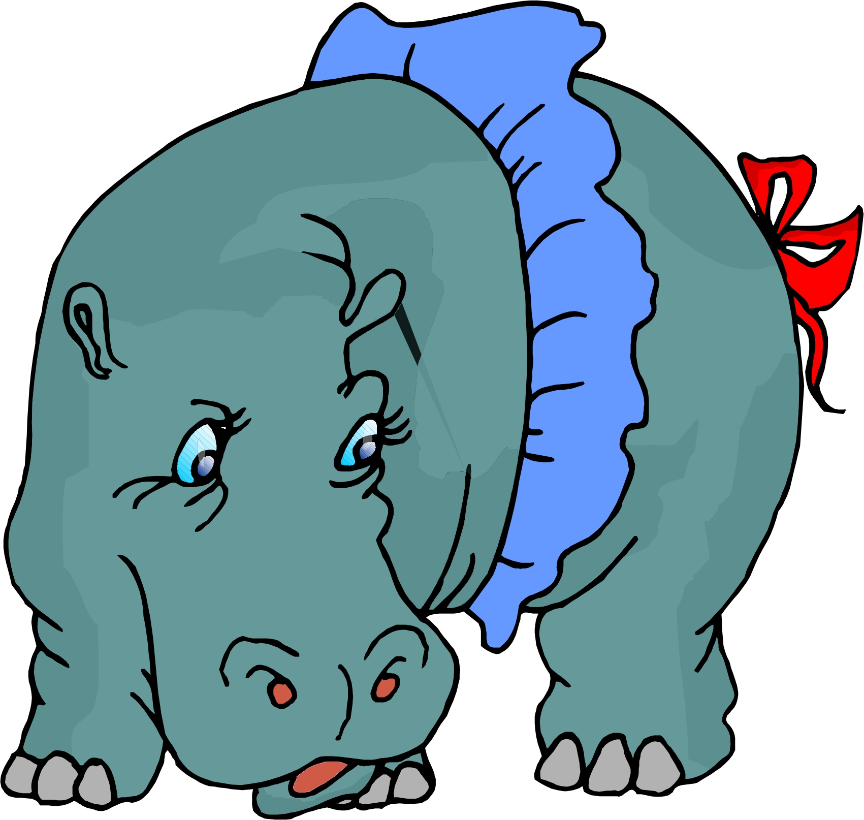1701x1614 Dancing Hippo Clipart Cliparts And Others Art Inspiration