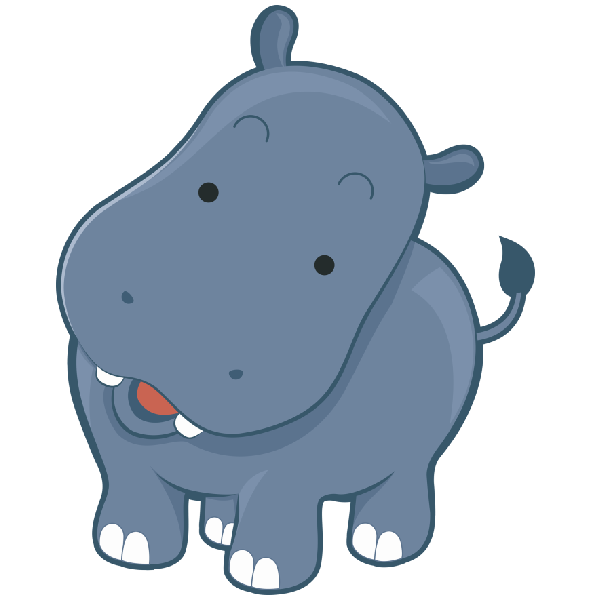 600x600 24 Images Of Hippo Baby Shower Clip Art
