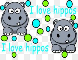 260x200 Hippopotamus Rhino Vs. Hippo Clip Art