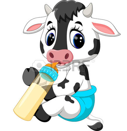 436x450 Collection Of Cute Baby Cow Clipart High Quality, Free