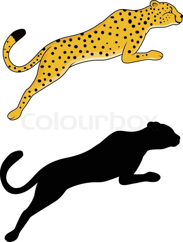 605x800 Collection Of Jumping Jaguar Drawing High Quality, Free