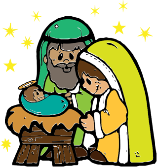318x339 Christmas Baby Jesus Clipart
