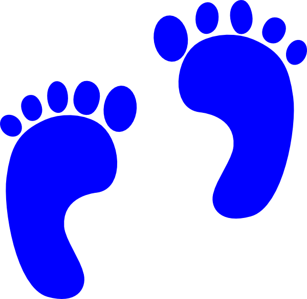 600x583 Nobby Design Baby Footprint Clipart Image Of 3603 Footprints Free
