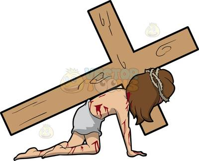 400x324 Jesus Died On The Cross Clipart