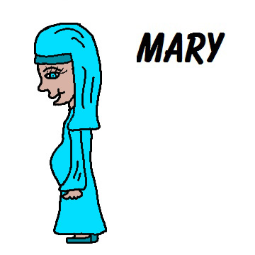 360x360 Top 88 Mary Clip Art