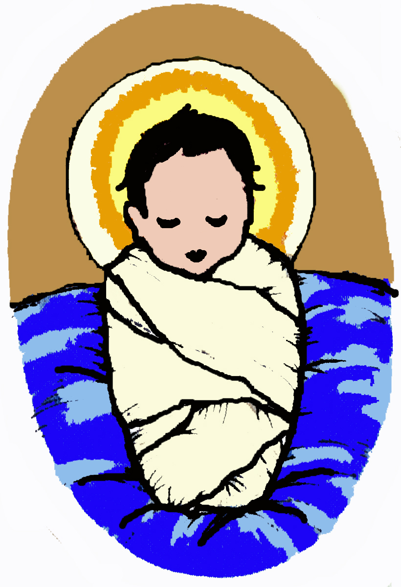 820x1199 Baby Jesus Images Free