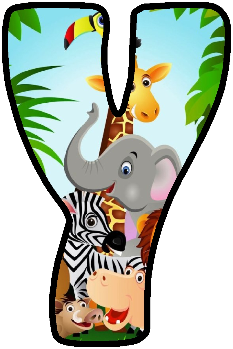 Baby Jungle Animals Clipart at GetDrawings | Free download