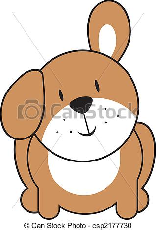 318x470 Cute Puppy Easy Clipart