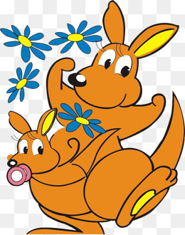 260x330 Cartoon Kangaroo Png Images Vectors And Psd Files Free