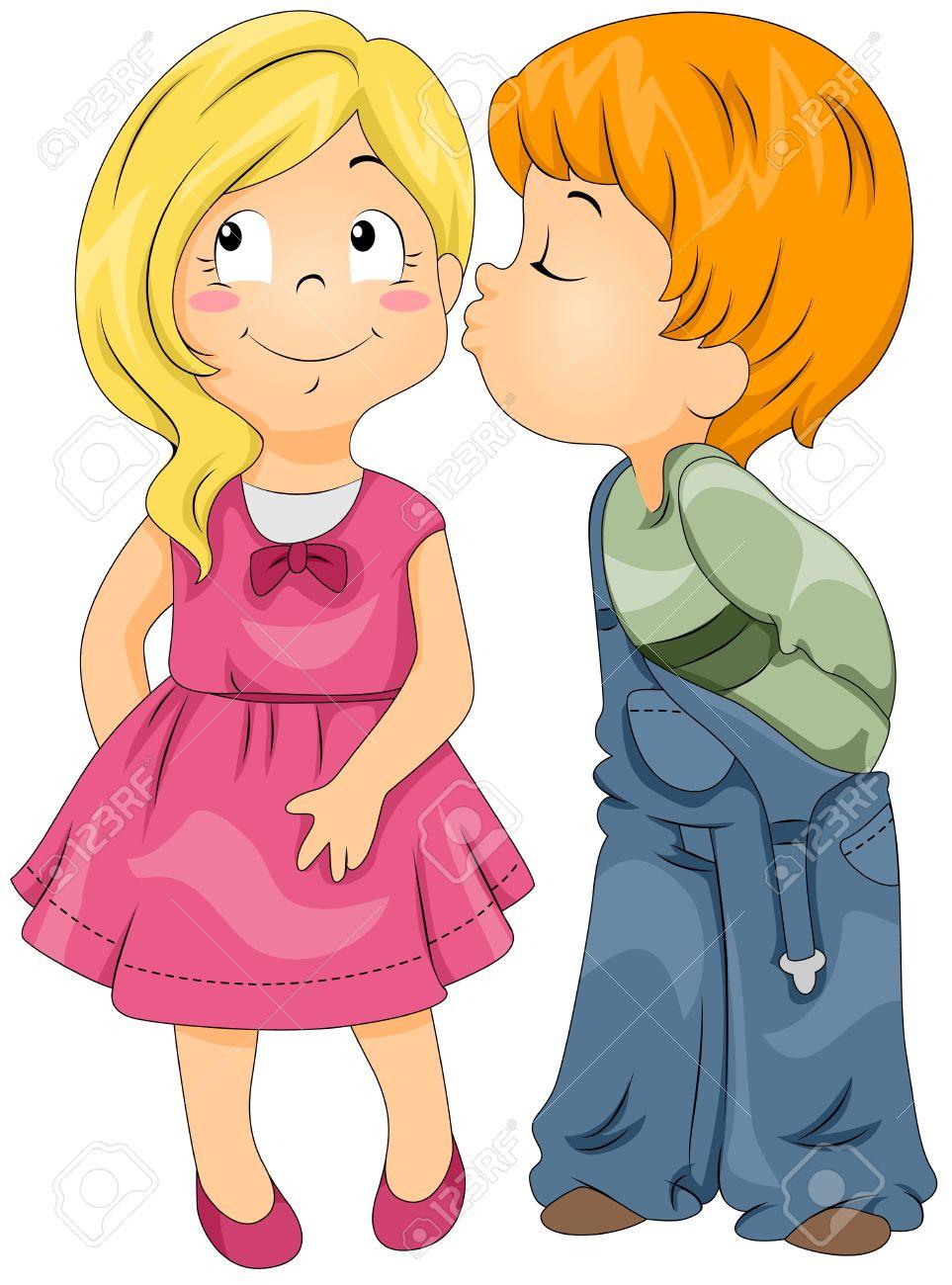 963x1300 Child Kiss Clipart