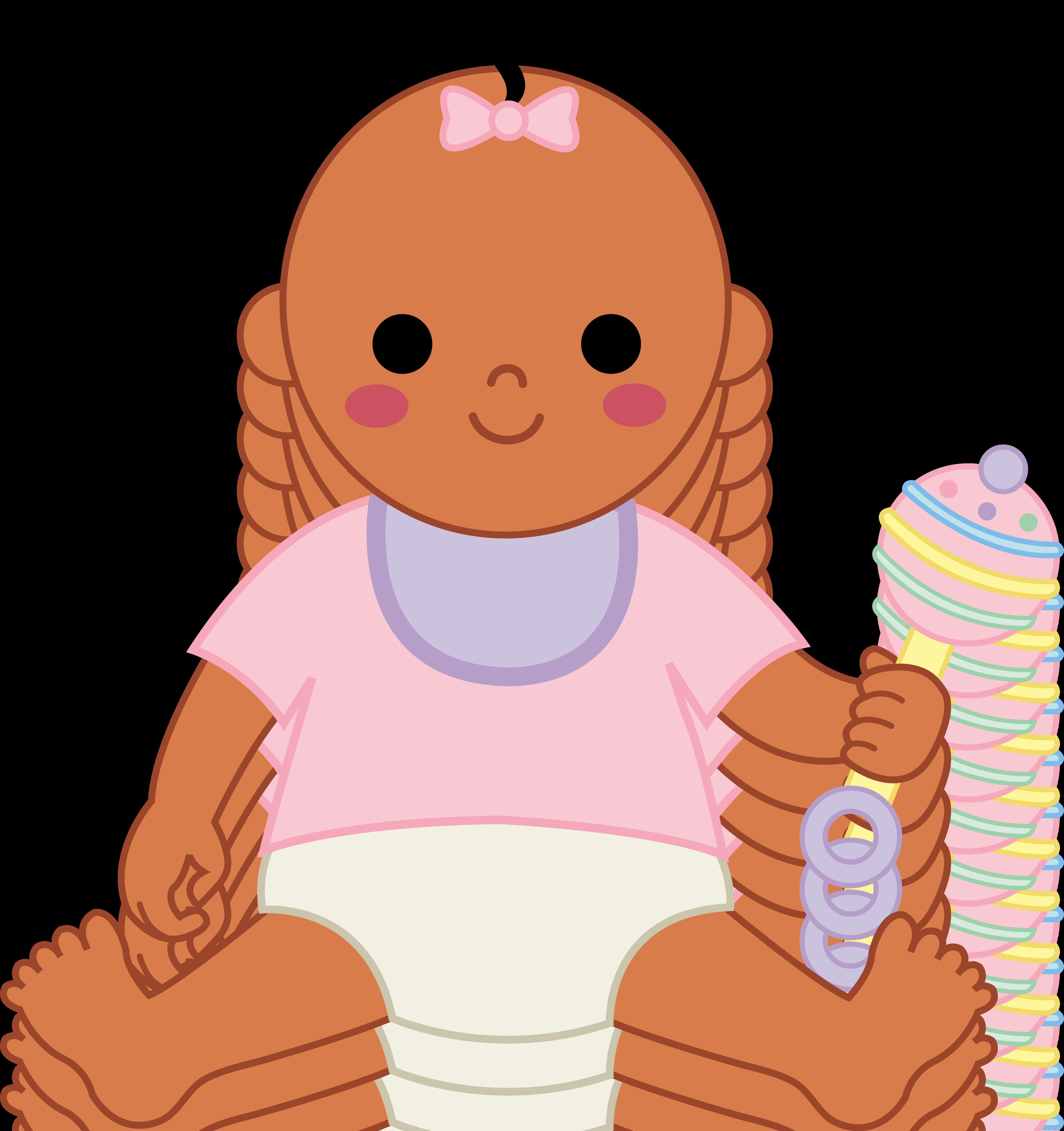 5177x5502 Black Clipart Baby Shower
