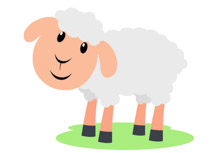 210x153 Clipart Sheep Free