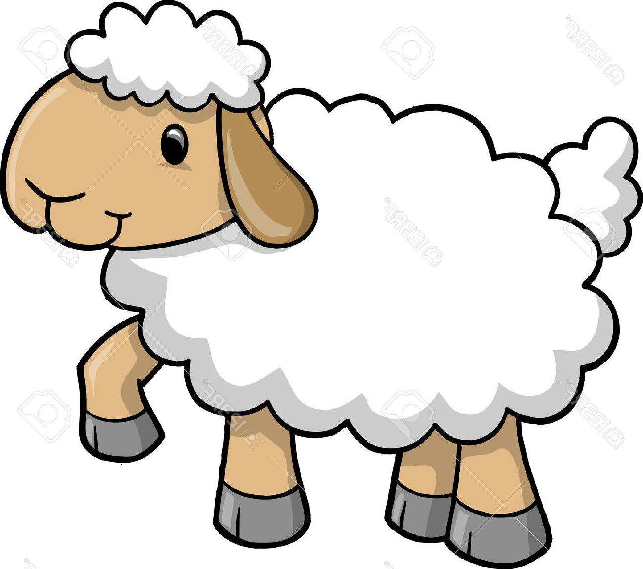 1300x1149 Extremely Creative Clipart Sheep Clip Art Farm Picgifs Com