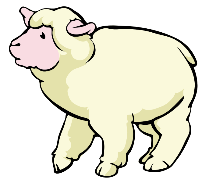 686x600 Sheep Baby Lamb Clipart Clipart Clipartix