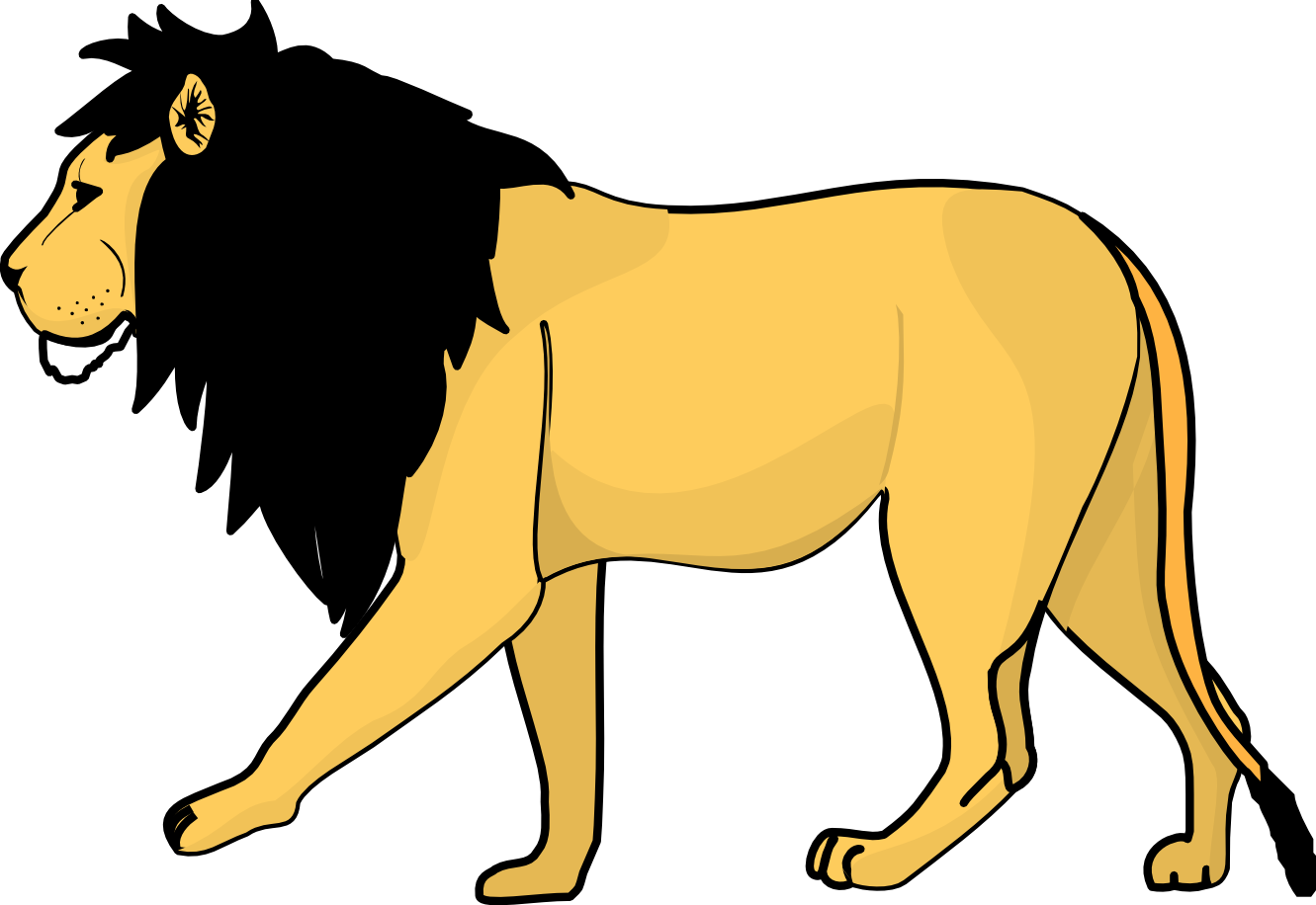 1331x916 Baby Lion Clipart Free Images 2