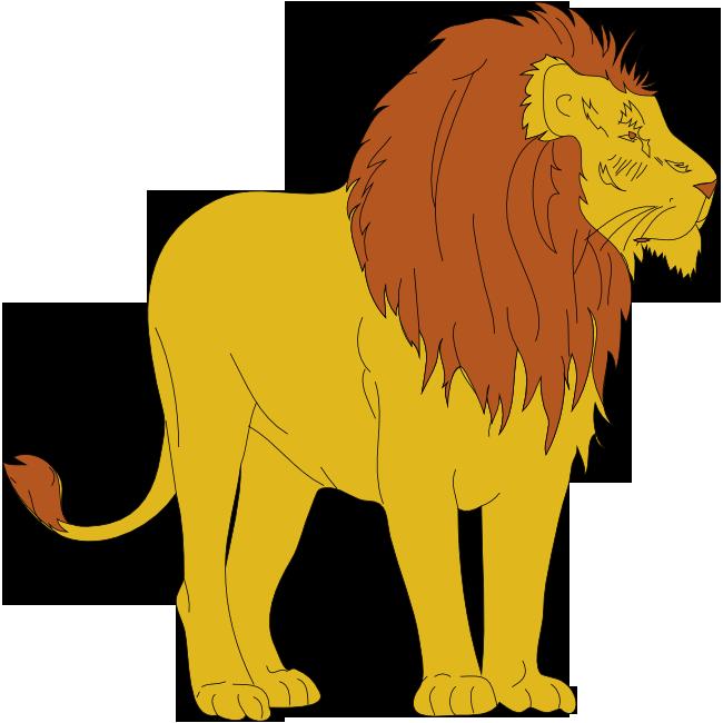 650x650 Lion Clipart Png