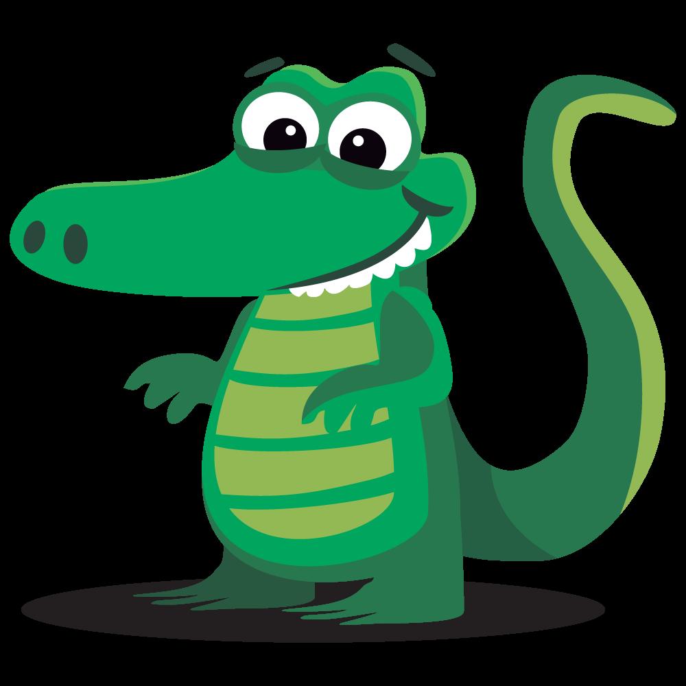 1000x1000 Alligator Clipart Crocodile Clip Art Vector 3