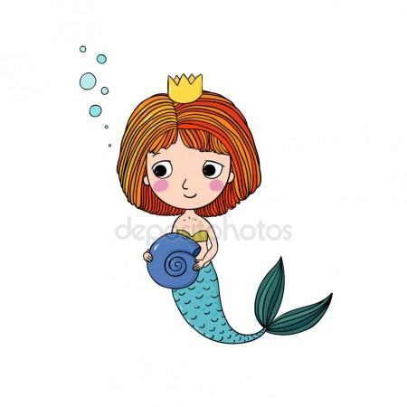 450x450 Little Mermaid Clipart