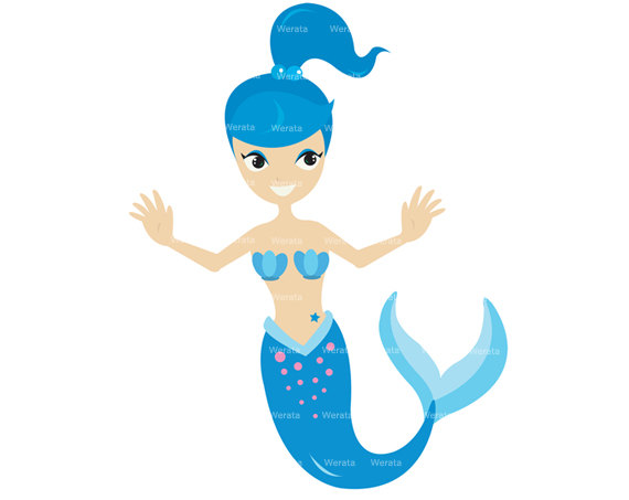 570x453 Mermaid Clip Art For Kids Clipart Panda