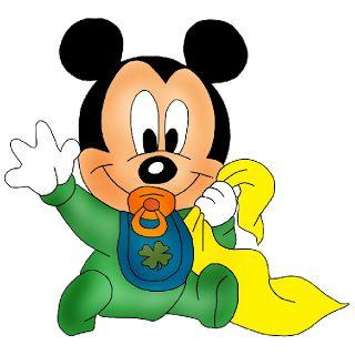 Baby Mickey Clipart