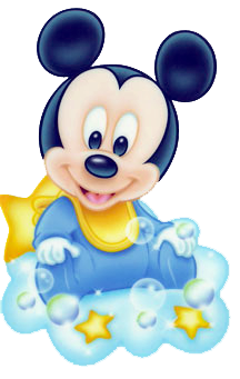 216x341 Baby Mickey On Cloud Clips