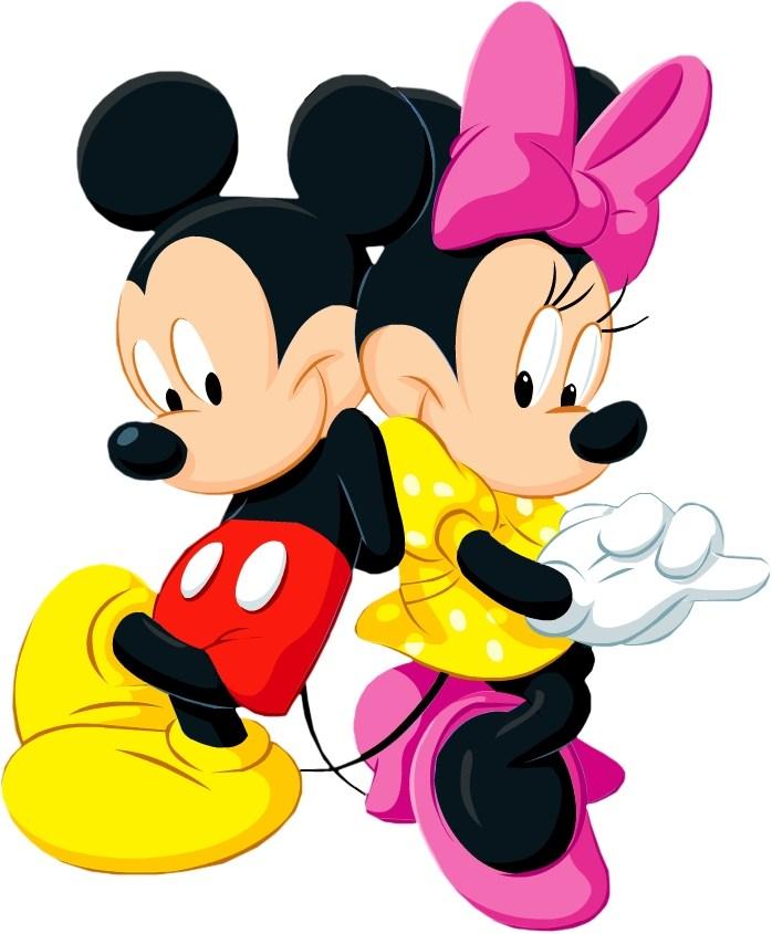 698x845 Mickey Minnie Mouse Clip Art