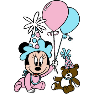 Baby Minnie Clipart
