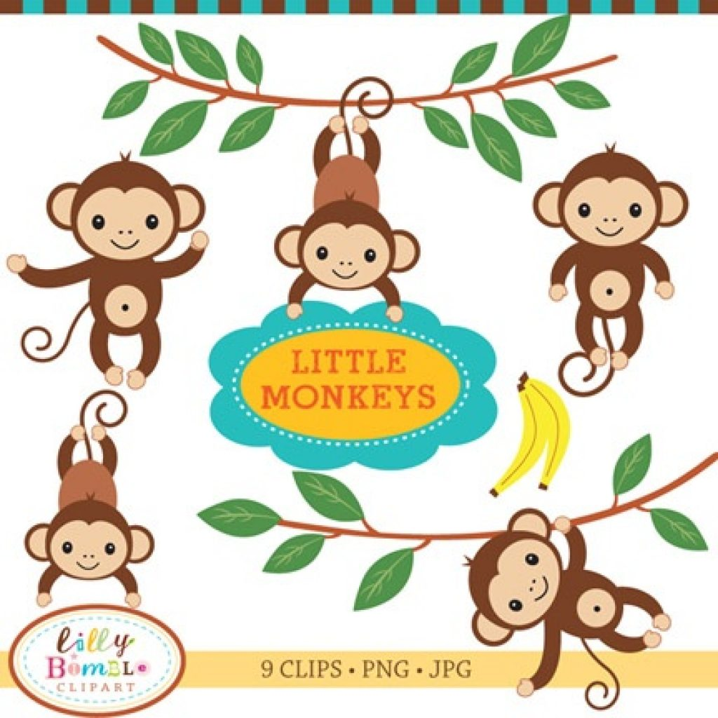 1024x1024 Baby Monkey Clipart Free Clipart