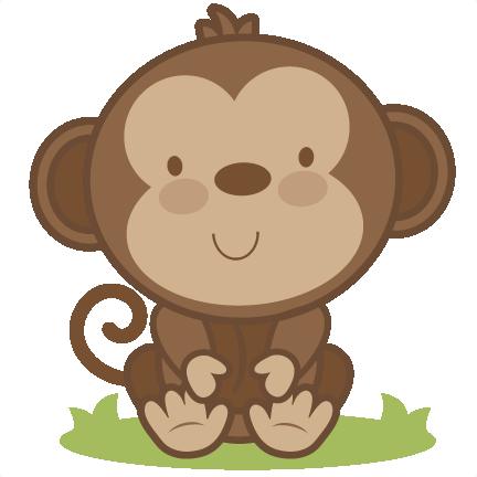 432x432 Baby Monkey Svg Cutting File Monkey Svg Cut File Free Svgs Free