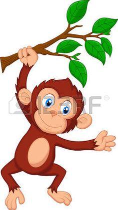 236x421 Cute Cartoon Monkeys Monkeys Cartoon Clip Art Cartoon Images