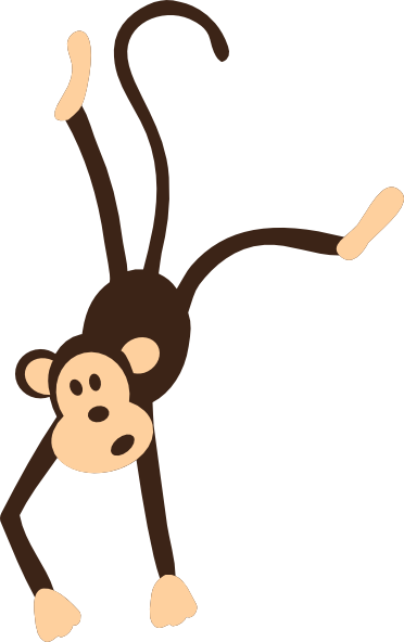 372x592 Image Of Baby Monkey Clipart