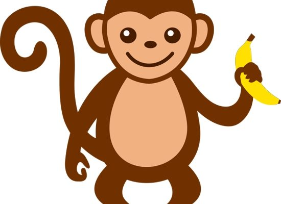 550x400 Top Monkey Clip Art Images Free Download