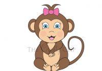 200x140 Baby Monkey Clipart Ba Monkey Clip Art Ba Monkey Clip Art Image