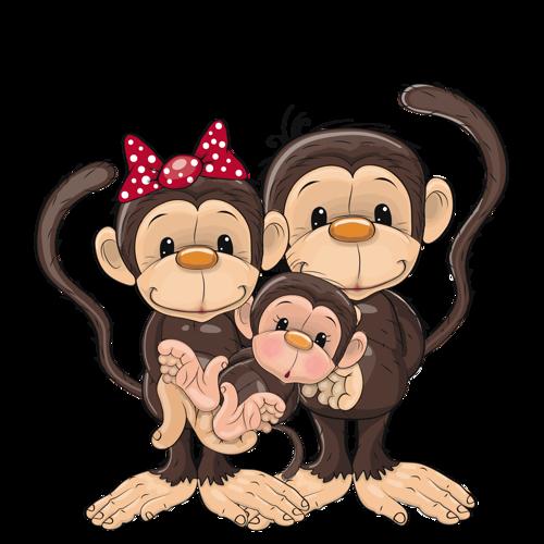 500x500 Baby Monkey Clip Art Images Monkey Clipart Whimsical Monkeys Clip