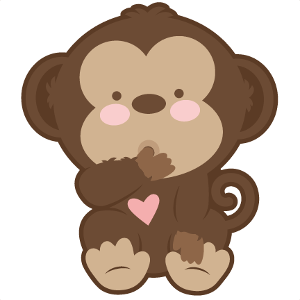 432x432 Baby Monkey Clipart Group