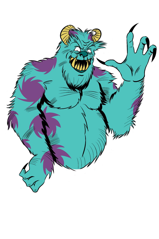 1000x1500 Clip Art Monsters Inc Clip Art